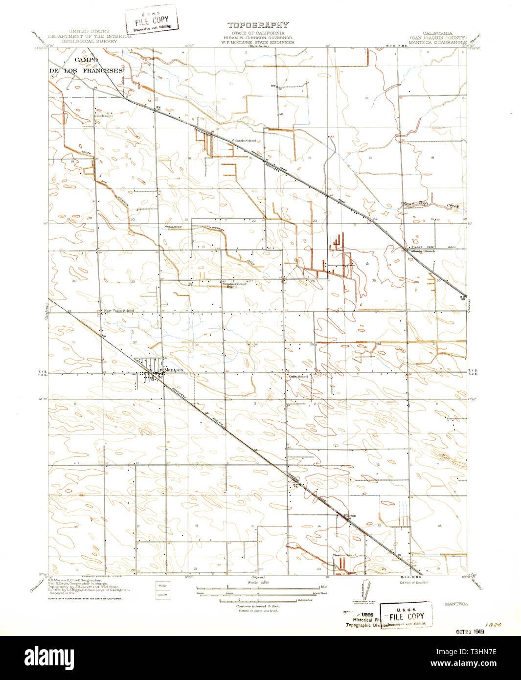 USGS TOPO Map California CA Manteca 296287 1914 31680 ... Manteca Map on stockton map, linden map, sanger map, santee map, escalon map, burney map, colton map, berkeley map, woodlake map, milpitas map, lemoore map, french camp map, garberville map, marina map, brentwood map, fullerton map, port costa map, patterson map, avenal map, oakdale map,