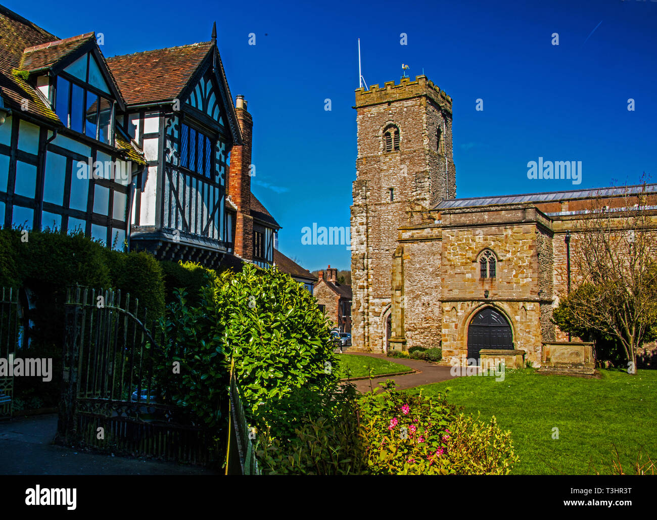 Much Wenlock, Shropshire. UK - Stock Image