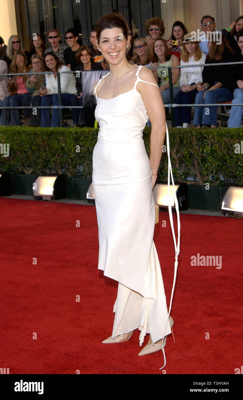 LOS ANGELES, CA. March 10, 2002: Actress MARISA TOMEI at the 8th Annual Screen Actors Guild Awards in Los Angeles. © Paul Smith / Featureflash - Stock Image