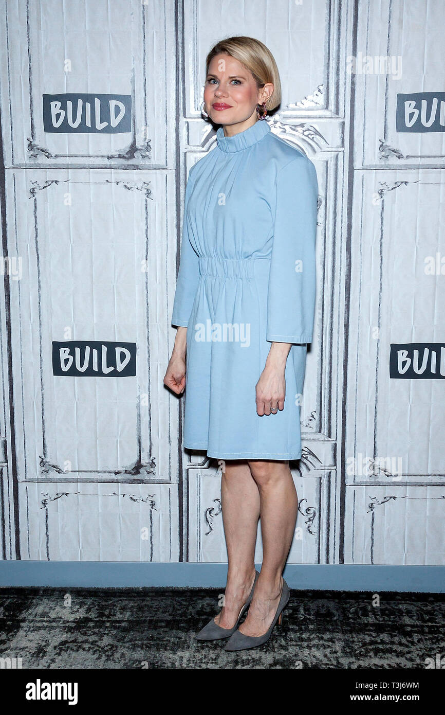 New York, USA. 09 Apr, 2019.  Celia Keenan-Bolger at The BUILD Series discussing ÒTo Kill a MockingbirdÓ at BUILD Studio on April 09, 2019 in New York, NY. Credit: Steve Mack/S.D. Mack Pictures/Alamy - Stock Image