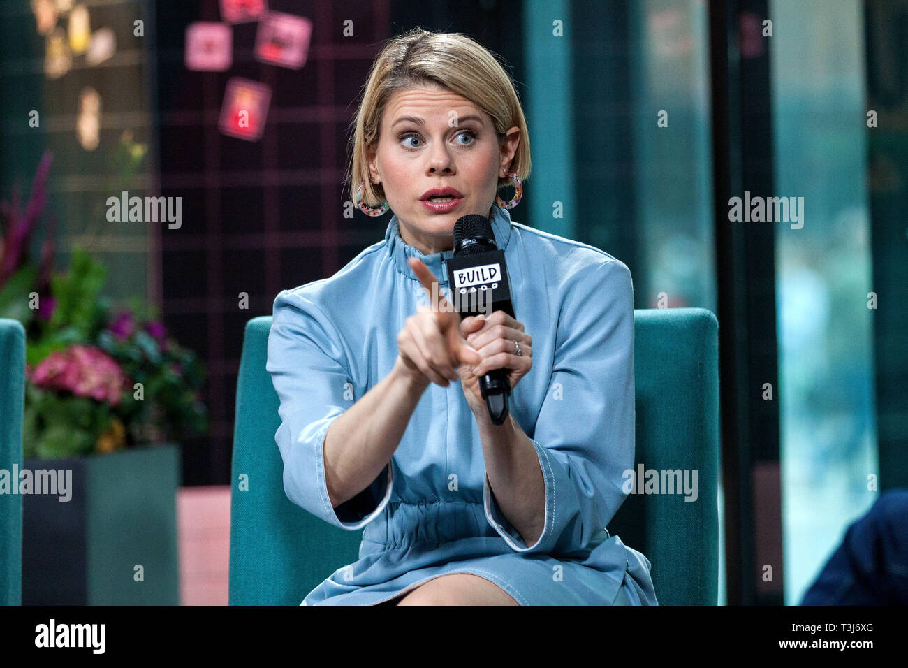 "New York, USA. 09 Apr, 2019.  Celia Keenan-Bolger at The BUILD Series discussing ""To Kill a Mockingbird"" at BUILD Studio on April 09, 2019 in New York, NY. Credit: Steve Mack/S.D. Mack Pictures/Alamy - Stock Image"