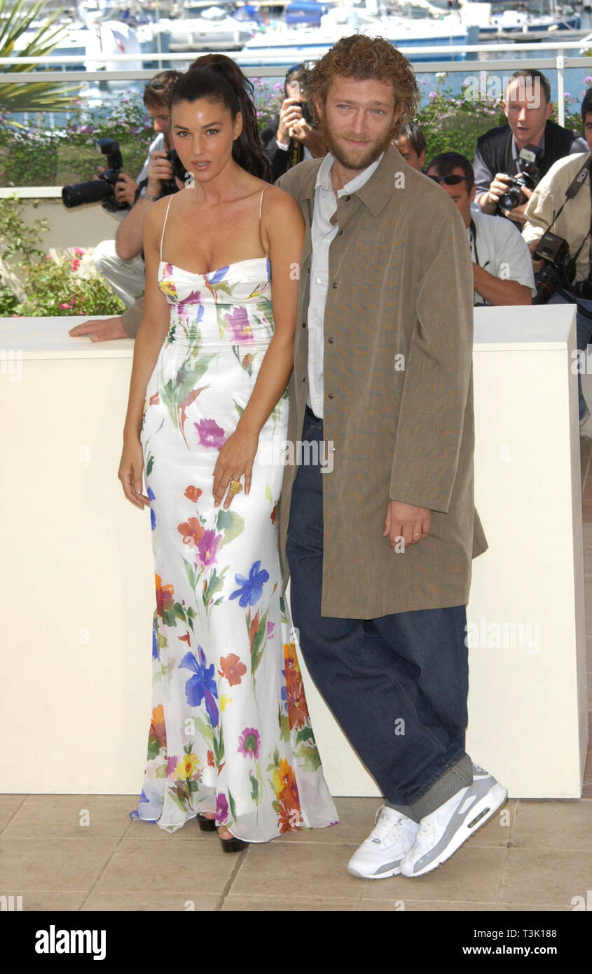 Cannes France May 24 2002 Actress Monica Bellucci