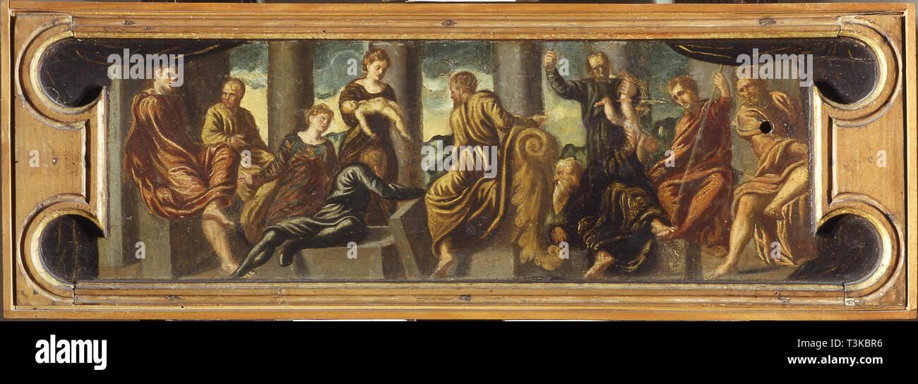 The Judgment of Solomon. Found in the Collection of Museo di Castelvecchio, Verona. - Stock Image