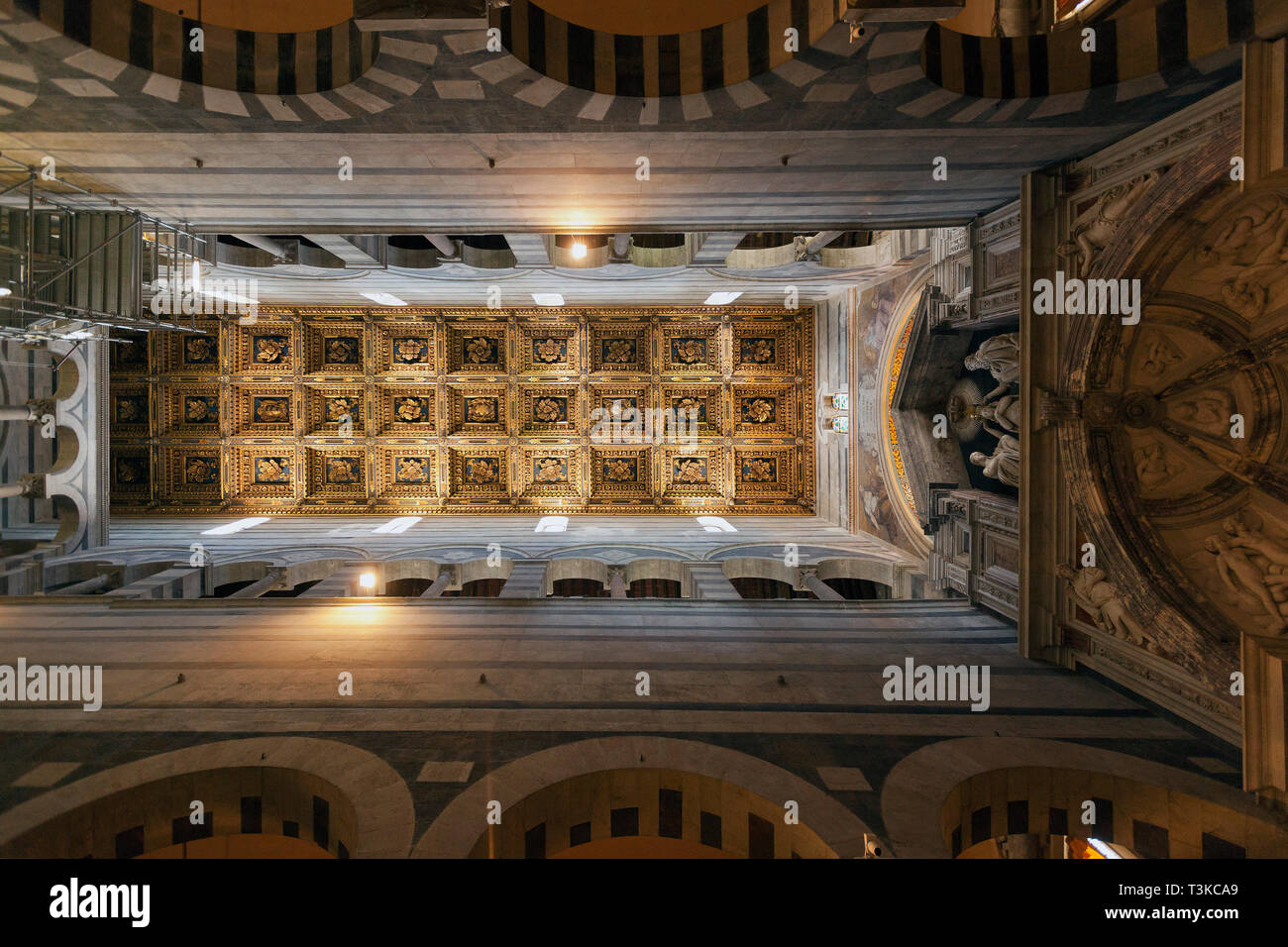 Interior of Pisa Cathedral Stock Photo