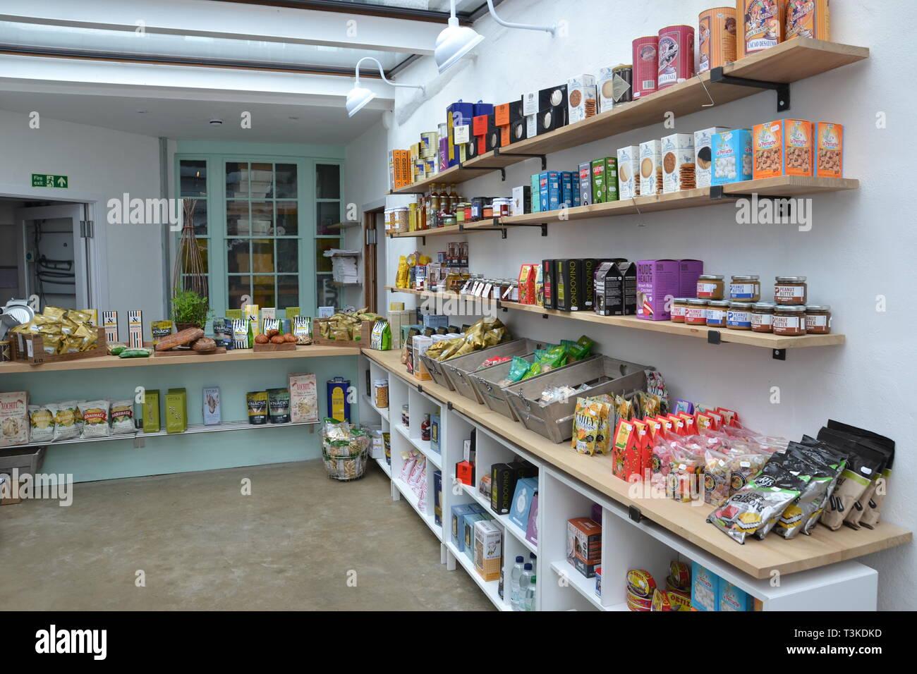 Inside the East Coast Store, Aldeburgh, Suffolk, UK Stock Photo