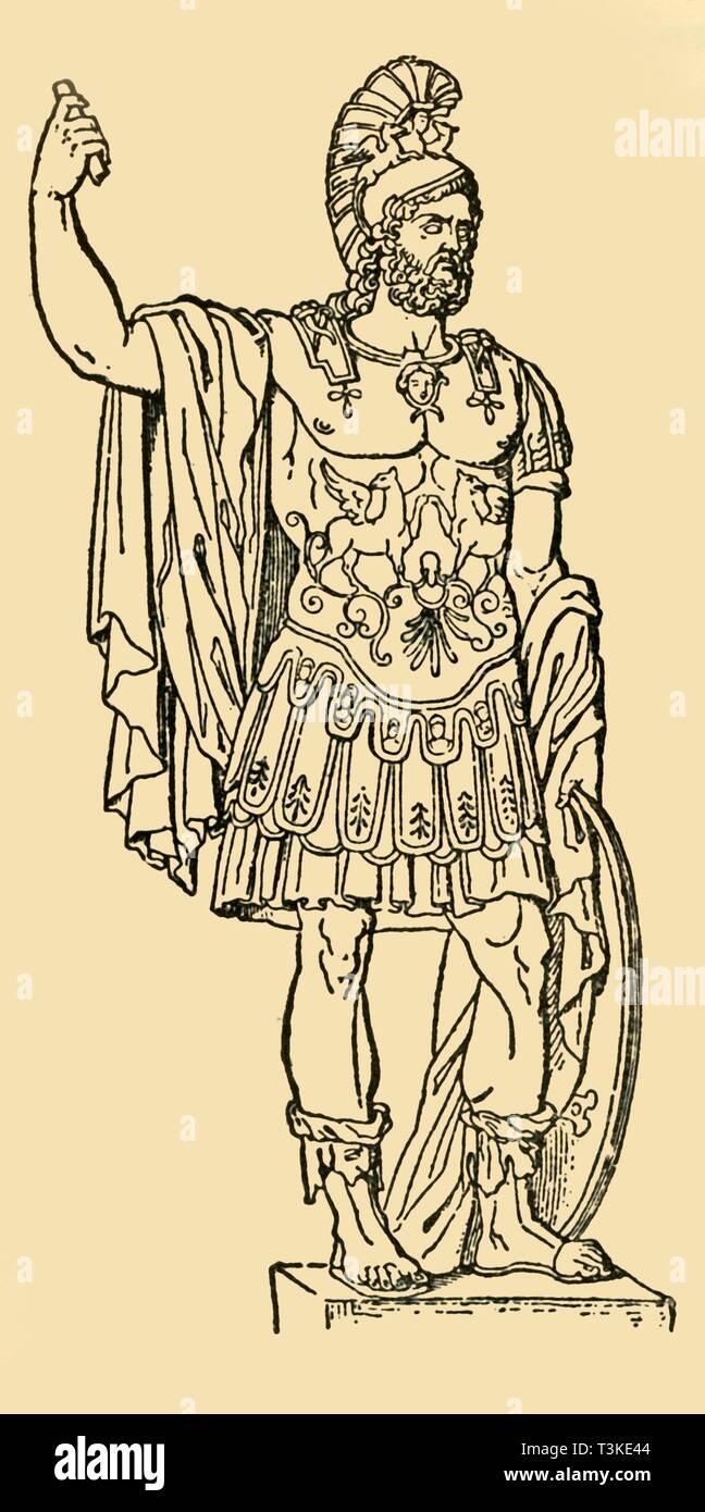 'Pyrrhus, King of Epirus', c1930. Creator: Unknown. - Stock Image