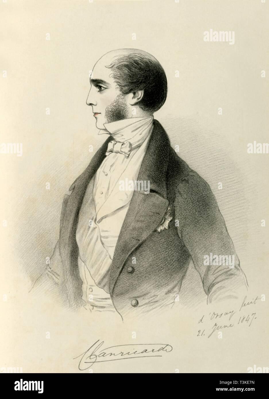 'The Marquis of Clanricarde', 1847. Creator: Richard James Lane. - Stock Image