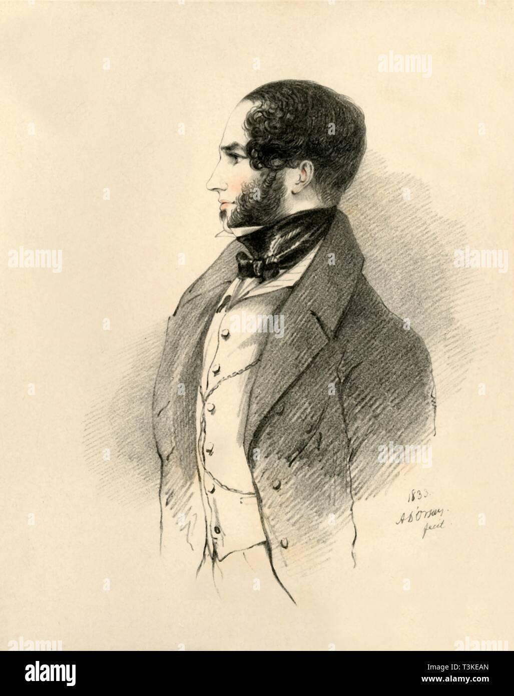 'The Marquis of Conyngham', 1833. Creator: Richard James Lane. - Stock Image