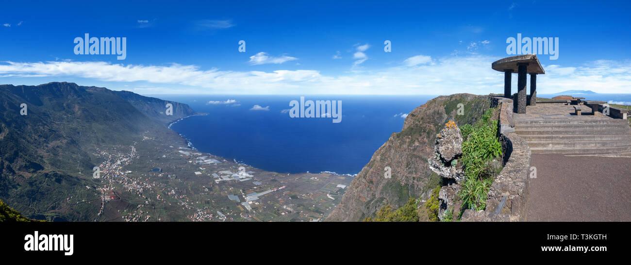 Viewpoint Mirador de Jinama - El Hierro, Canary Islands - Stock Image