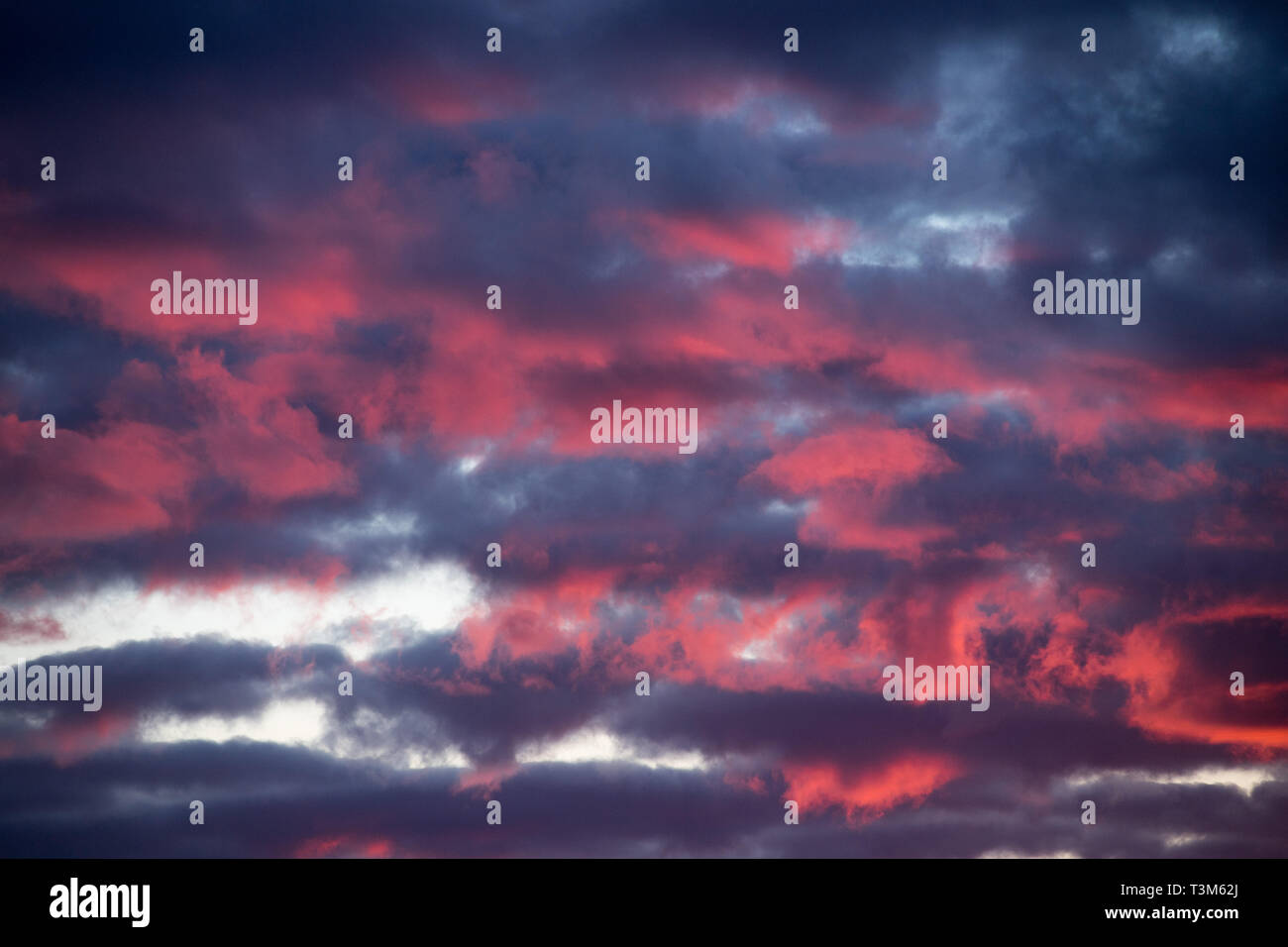 Clouds in Gdansk, Poland. March 31st 2019 © Wojciech Strozyk / Alamy Stock Photo - Stock Image