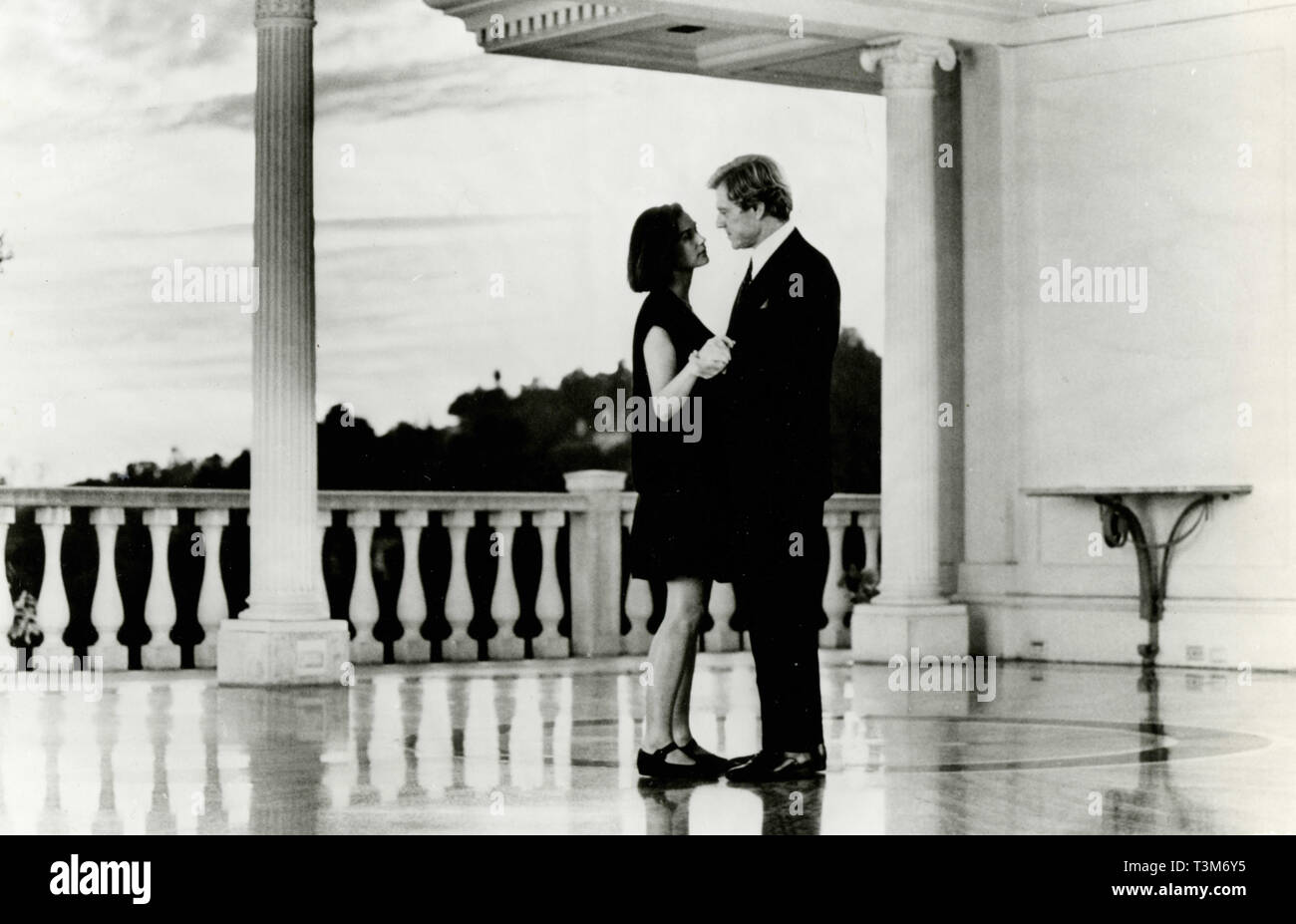 Demi Moore and Robert Redford in the movie Indecent Proposal, 1993 - Stock Image