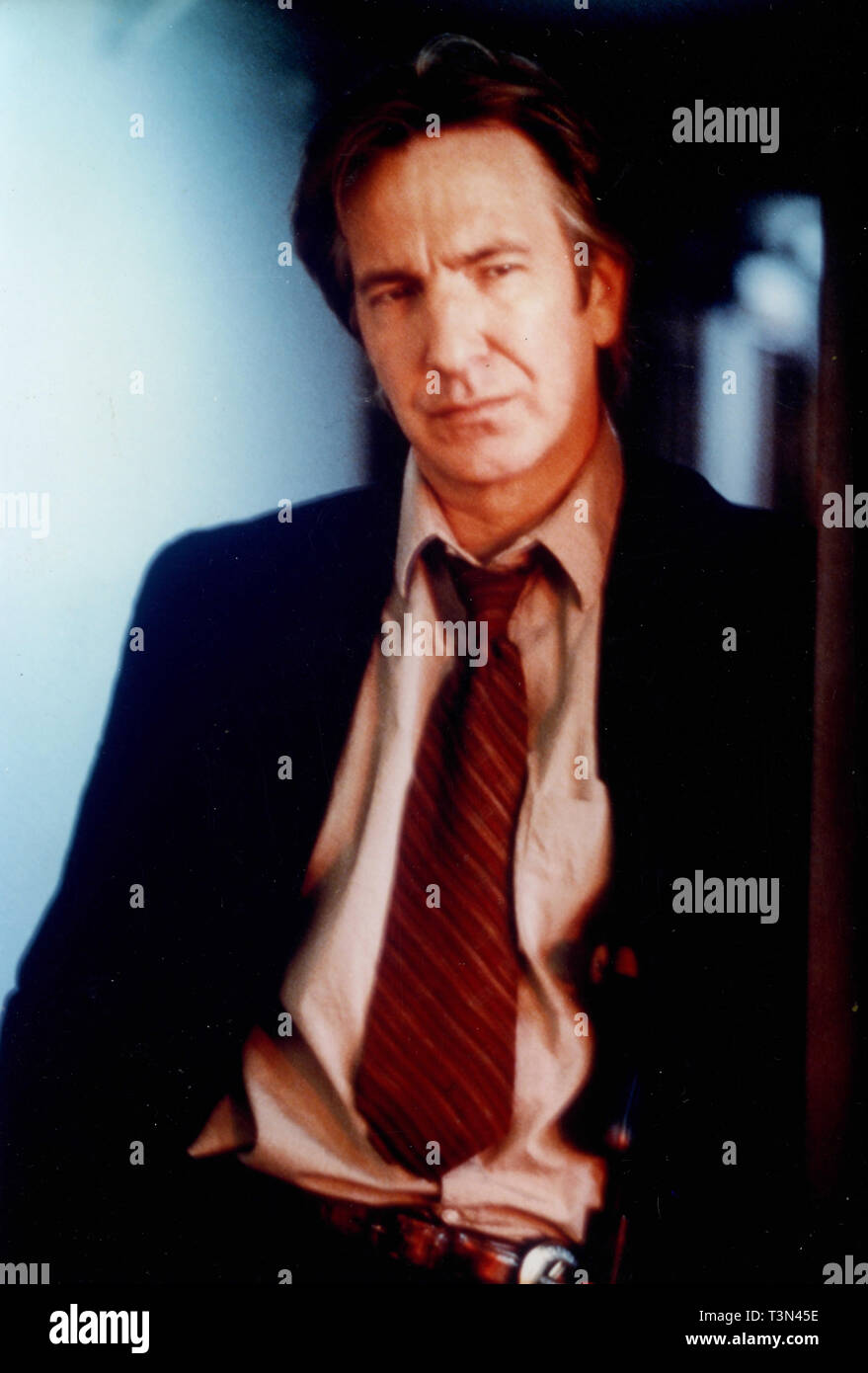 Actor Alan Rickman in the movie Judas Kiss, 1990s - Stock Image