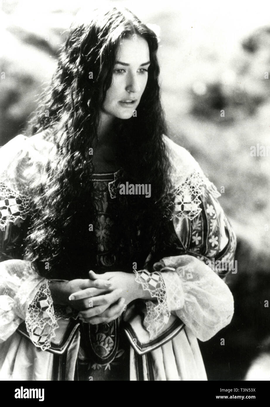 Actress Demi Moore In The Movie Scarlet Letter 1995