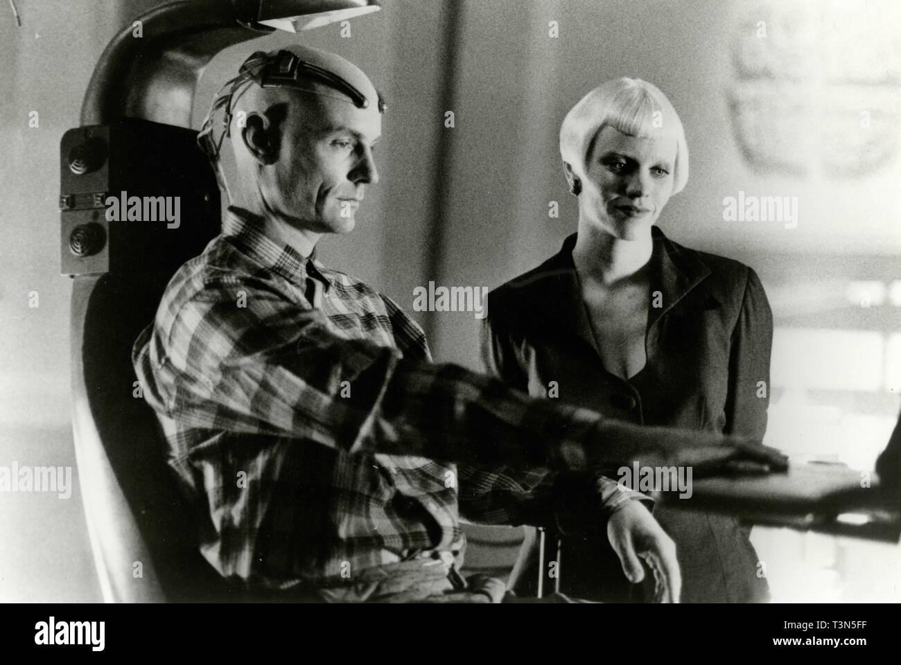 Matt Frewer in the movie Lawmower Man 2: Beyond Cyberspace, 1994 - Stock Image