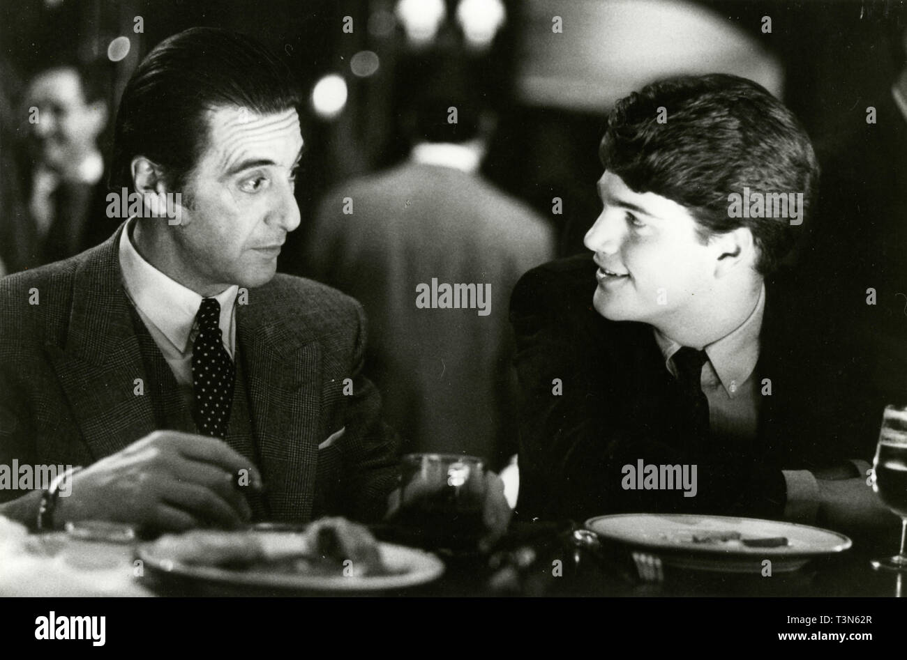 Actors Al Pacino And Chris O Donnell In The Movie Scent Of A Woman 1992 Stock Photo Alamy