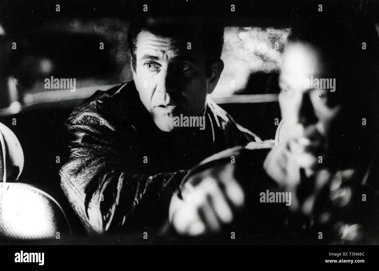 Actor Mel Gibson in the movie Conspiracy Theory, 1997 - Stock Image