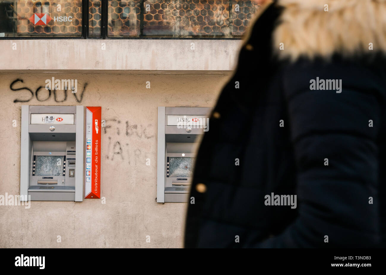 Atm Protest Stock Photos & Atm Protest Stock Images - Alamy