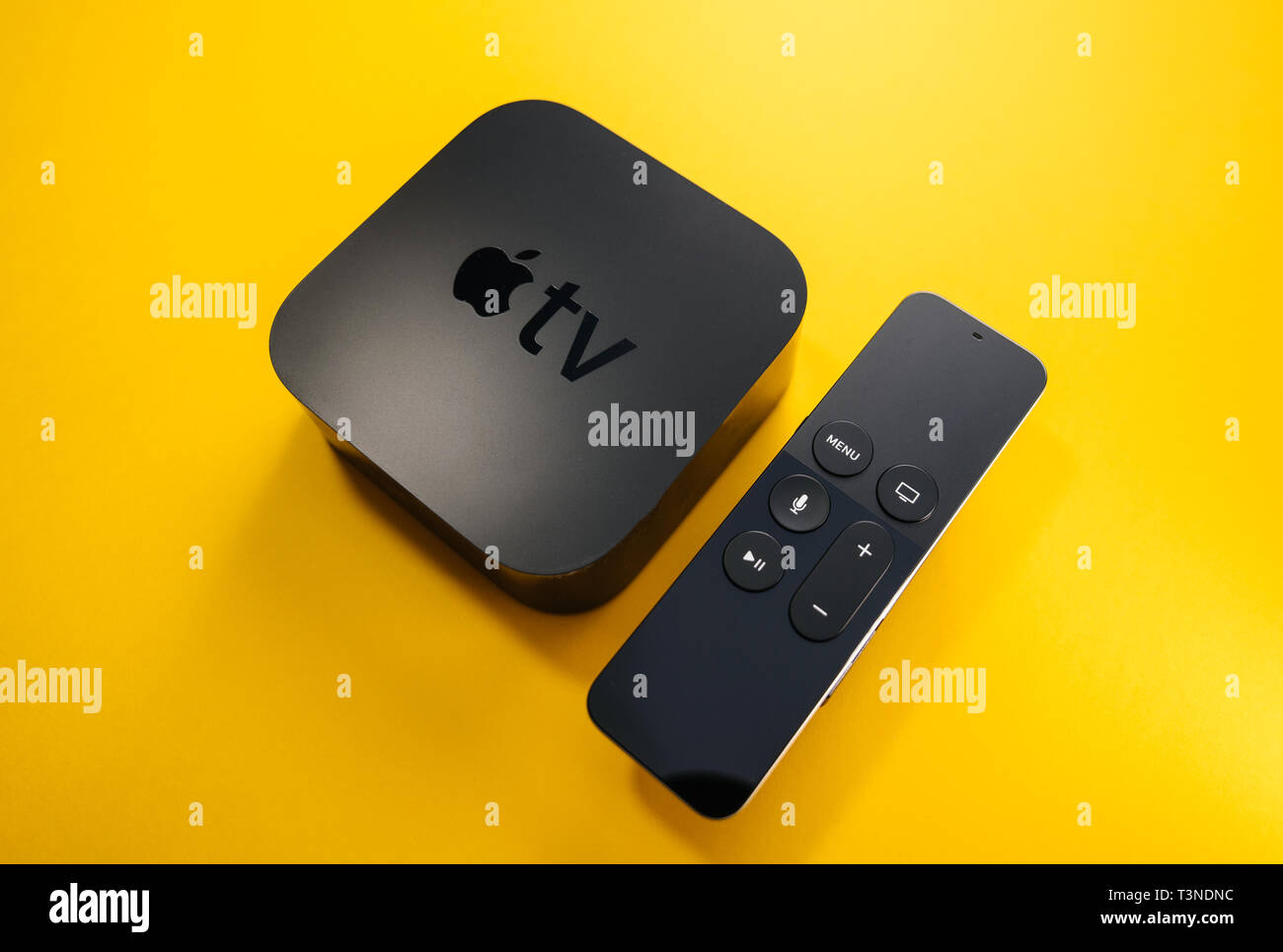 Apple Tv 4th Generation Stock Photos & Apple Tv 4th