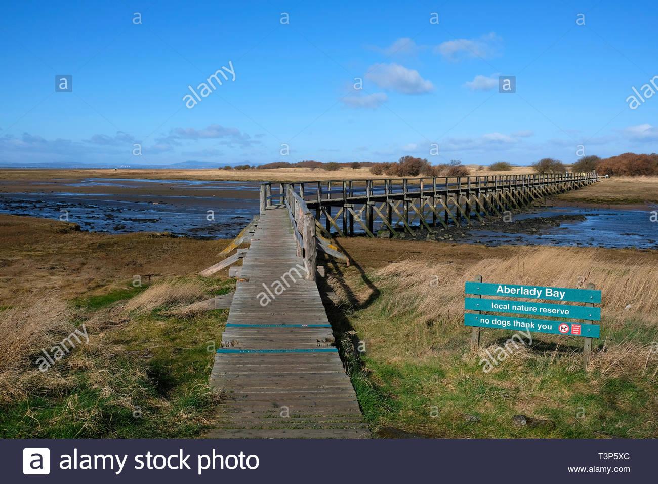 Aberlady Bay Nature Reserve, East Lothian, Scotland Stock Photo ...
