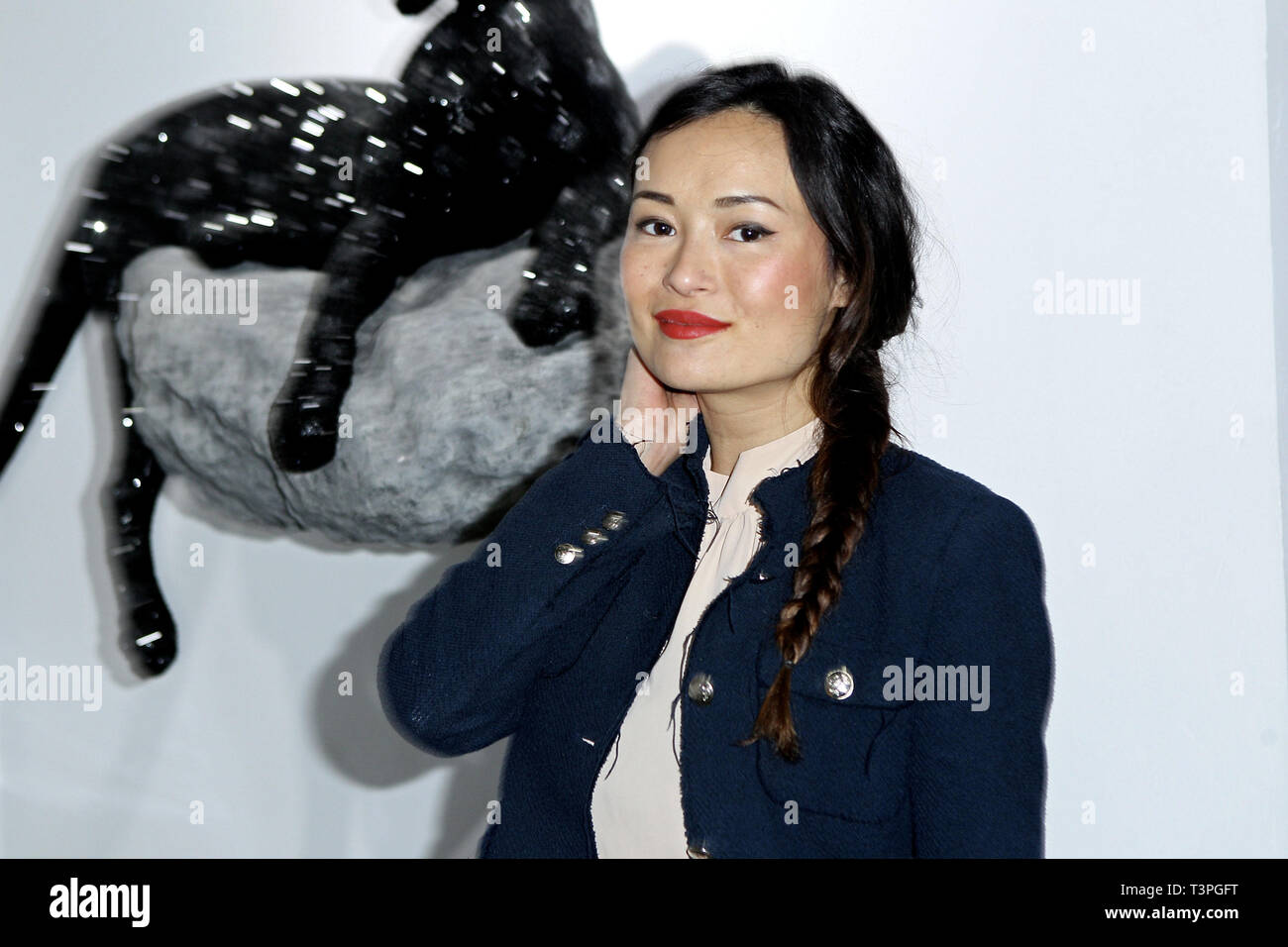 New York, USA. 21 May, 2015.  Kamilla Sun at The Opening Night Of 'Paul Gerben: Mind Game' Private Art Event at Space 16 on May 21, 2015 in New York, NY. Credit: Steve Mack/S.D. Mack Pictures/Alamy - Stock Image