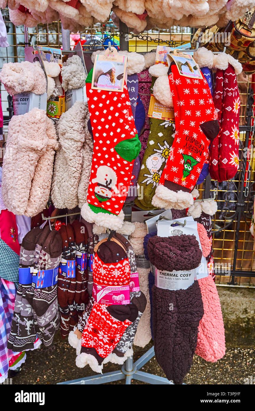 Christmas In Austria 2019.Hallstatt Austria February 21 2019 The Outdoor Stand Of