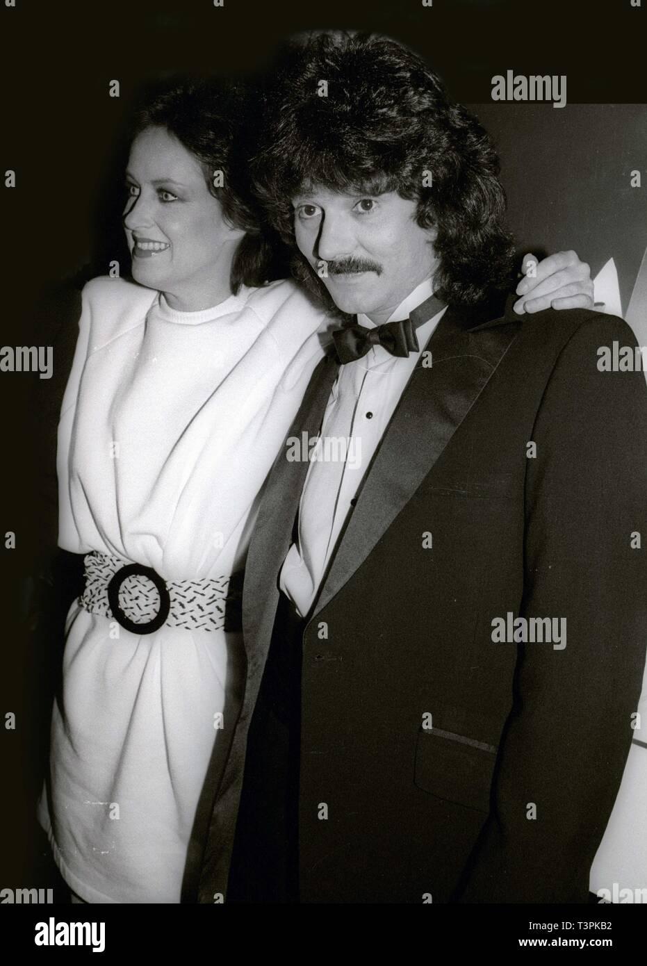 Grace Slick and Mickey Thomas 1983 Photo By John Barrett/PHOTOlink /MediaPunch - Stock Image