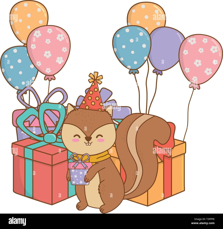 Download Birthday Party Scene Cartoon Gif