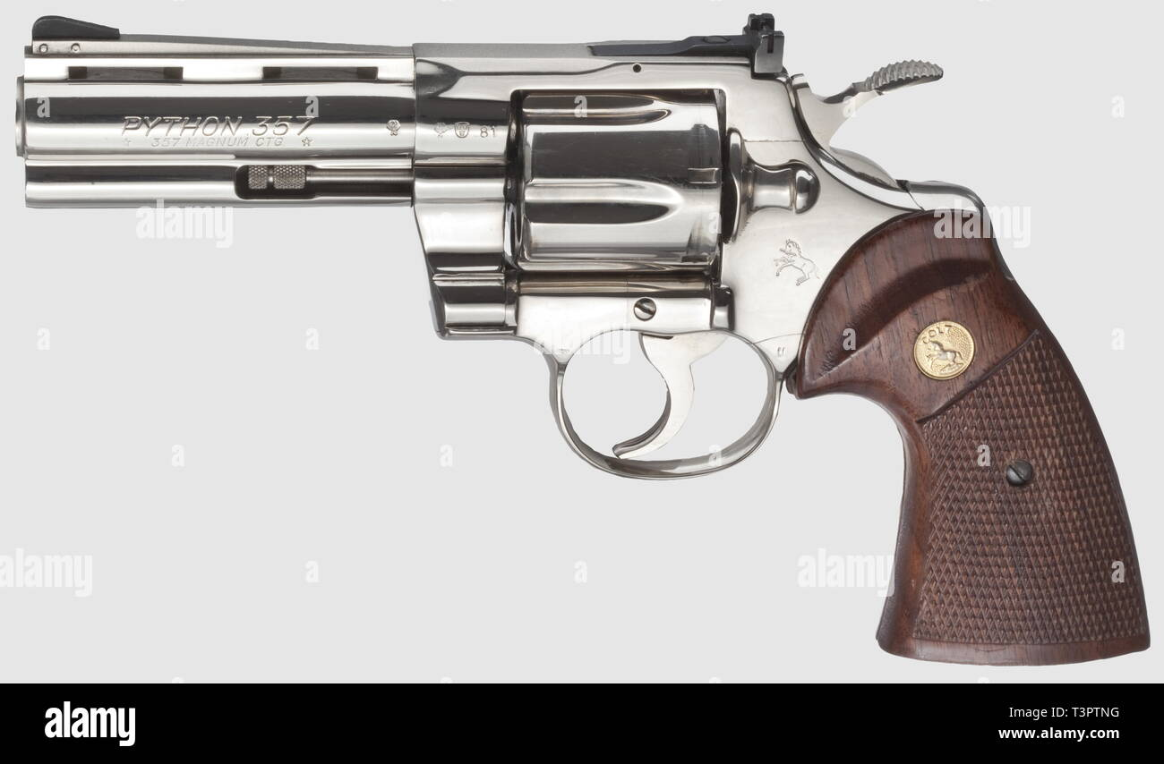 Small arms, revolver, Colt Python Model 1955, caliber  357