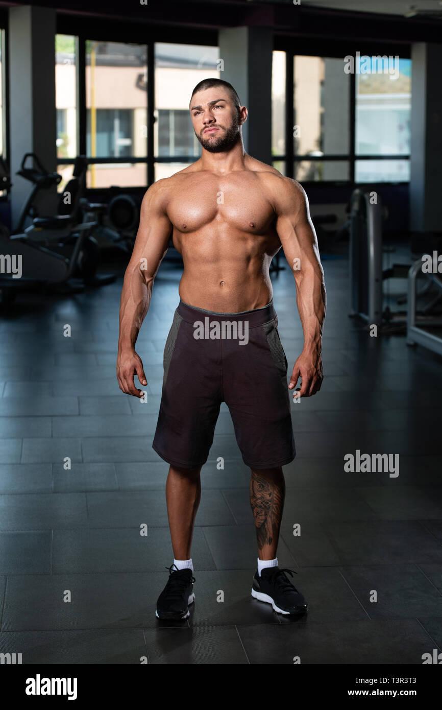 Mann bodybuilder 1990s Rapper