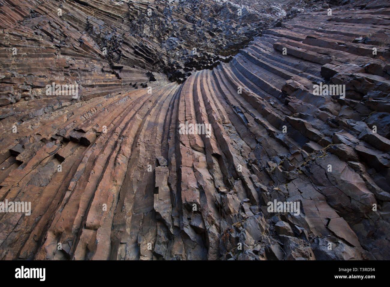 Basaltic - Stock Image