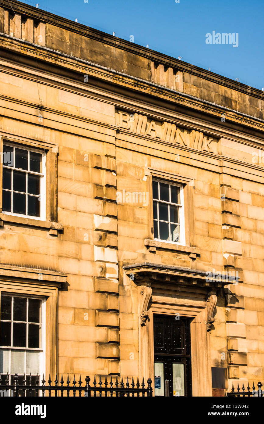 finished bank Bakewell Derbyshire - Stock Image