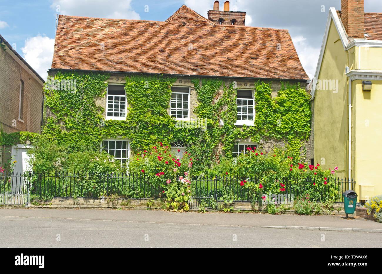 Cottage, Cavendish, Suffolk - Stock Image