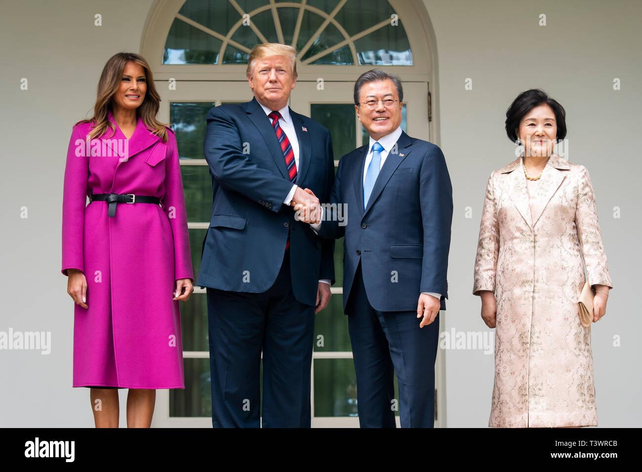 Washington, DC, USA  11th Apr, 2019  US President Donald J
