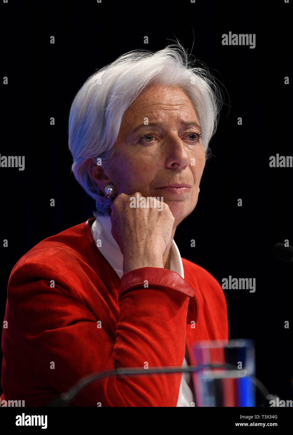 Washington, USA  11th Apr, 2019  Christine Lagarde