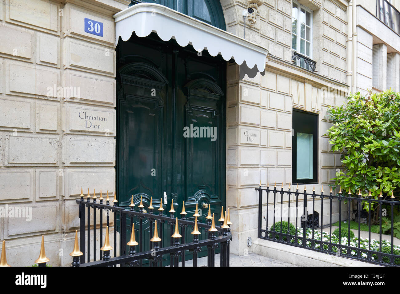 Maison Christian Dior Montauroux the christian dior building stock photos & the christian