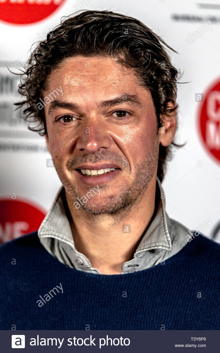 November 6, 2018 - Montreal, Canada: French director Samuel Jouy, at the screening of the film Sparring, at the Cinemania festival. (David Himbert/Pol - Stock Image
