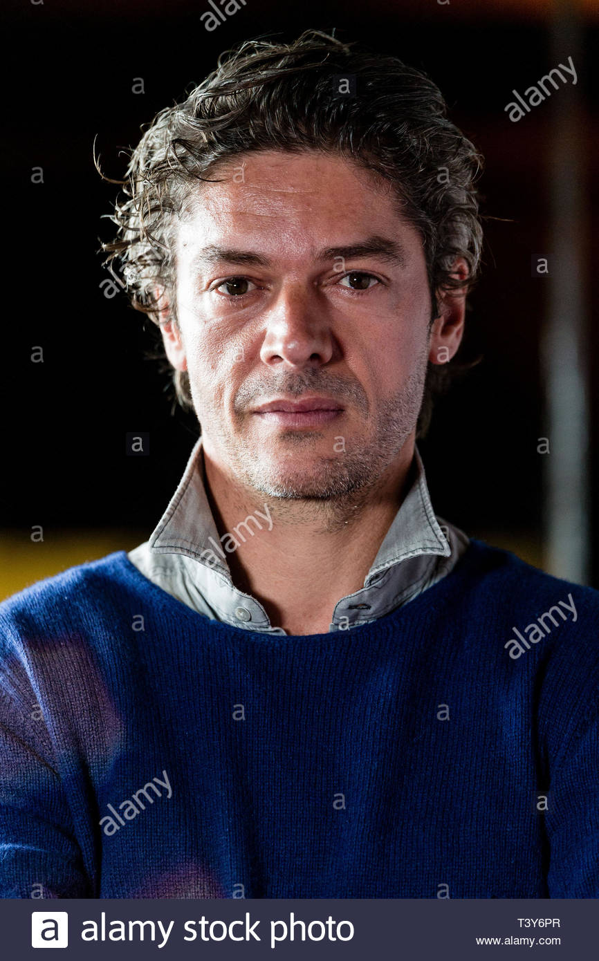 November 6, 2018 - Montreal, Canada: Portrait of French director Samuel Jouy, at the screening of the film Sparring, at the Cinemania festival. (David - Stock Image