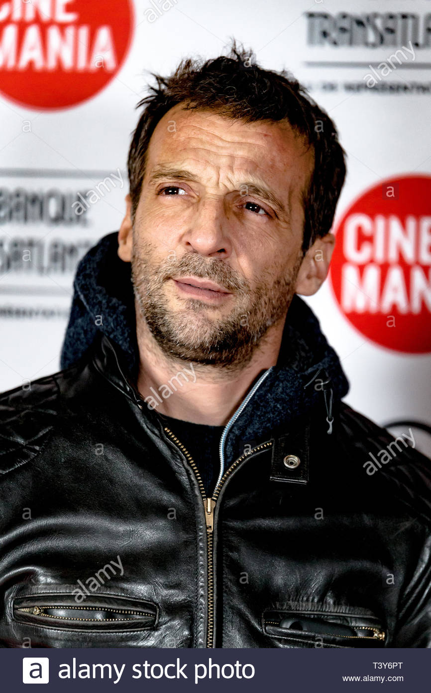 November 6, 2018 - Montreal, Canada: Mathieu Kassovitz, at the screening of the film Sparring, at the Cinemania festival. (David Himbert/Polaris) - Stock Image