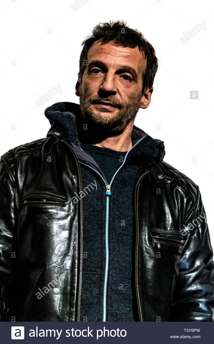 November 6, 2018 - Montreal, Canada: Portrait of Mathieu Kassovitz, at the screening of the film Sparring, at the Cinemania festival. (David Himbert/P - Stock Image