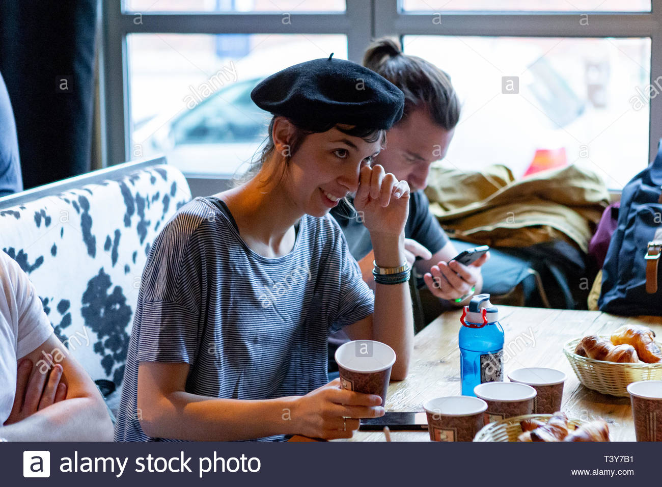365af0adf4a French Beret Stock Photos   French Beret Stock Images - Alamy