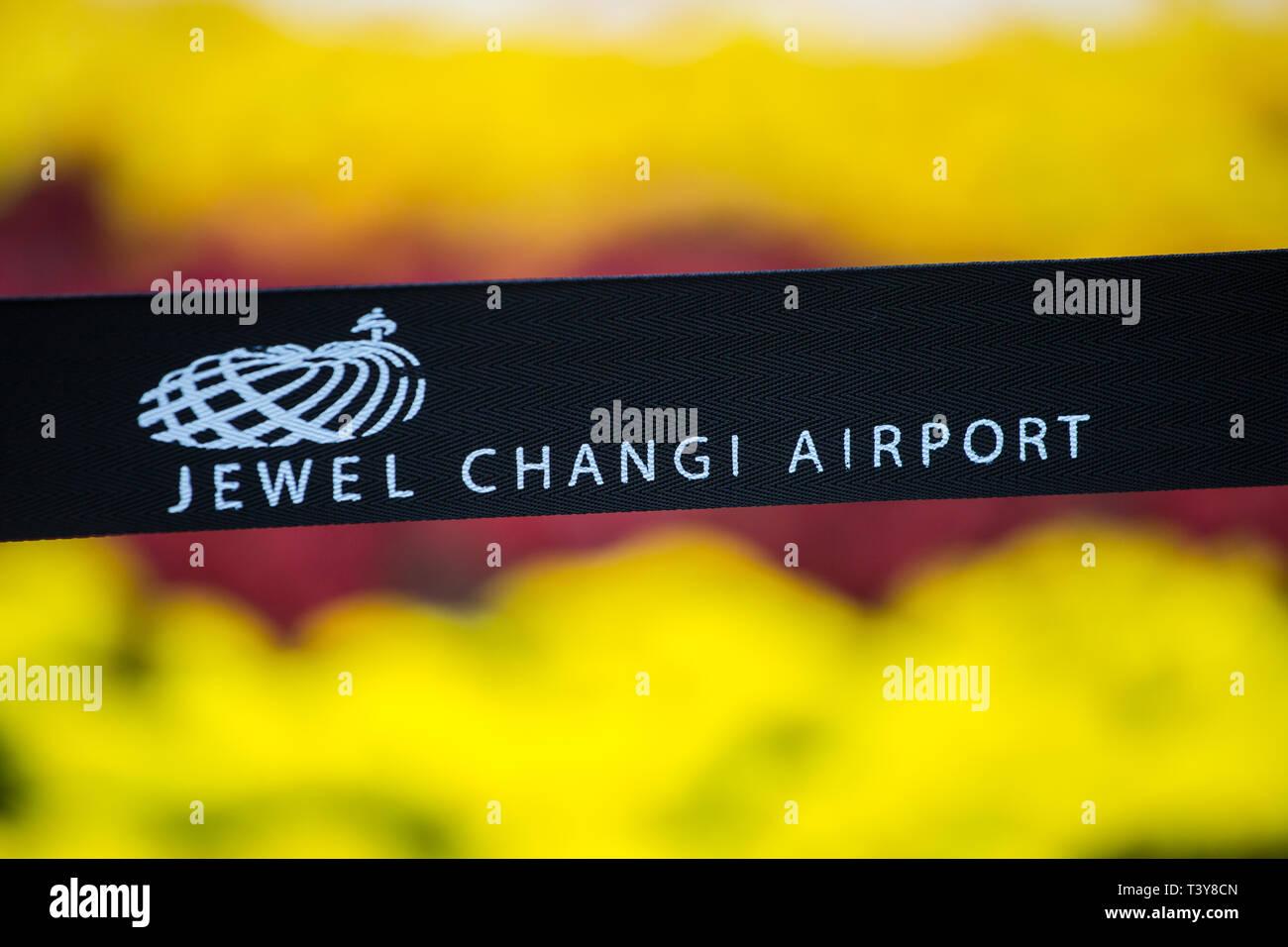 Jewel Changi Airport, Singapore - Stock Image