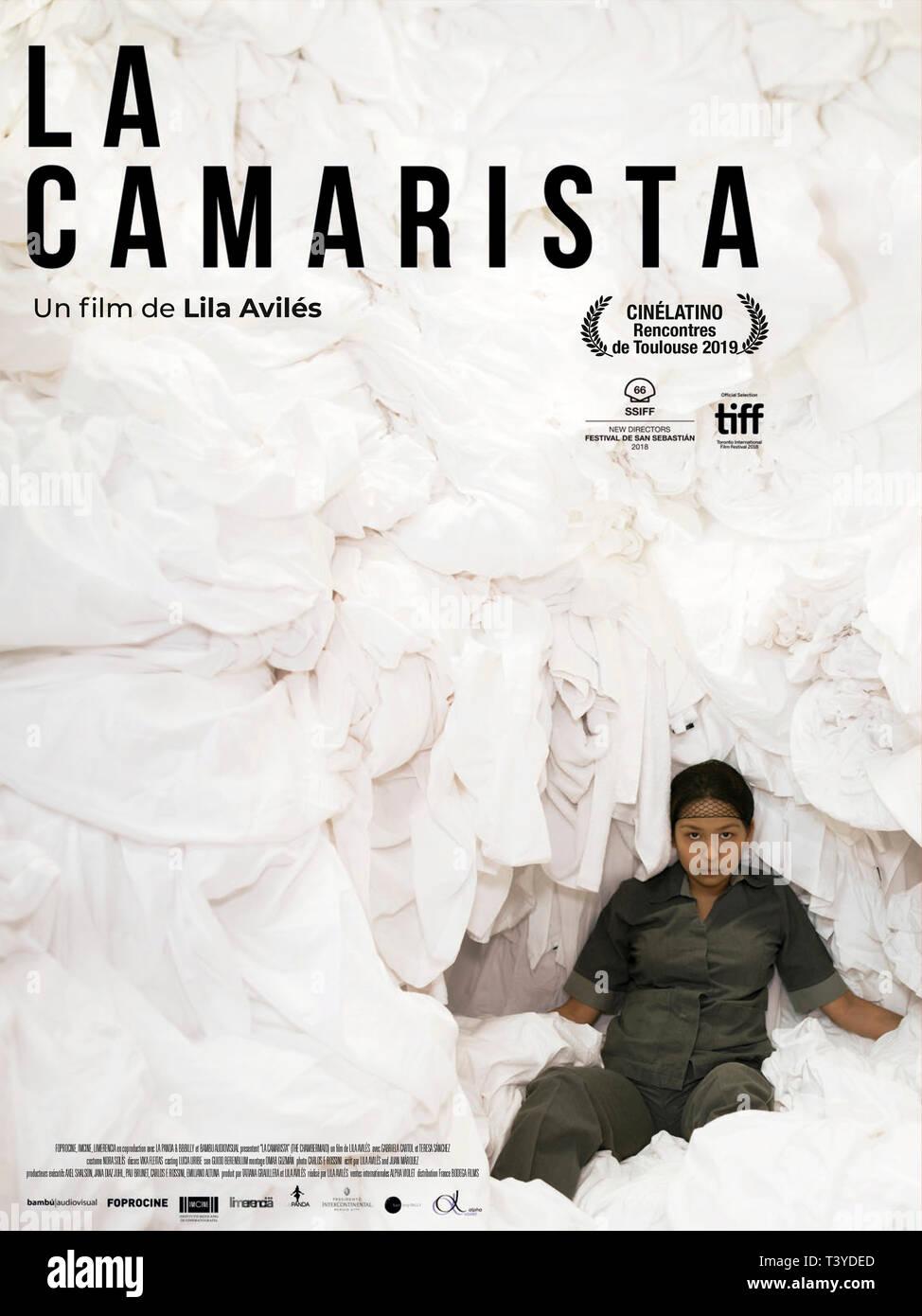LA CAMARISTA 2018 de Lila Aviles affiche française Prod DB © Bambu Audiovisual - La Panda / DR - Stock Image