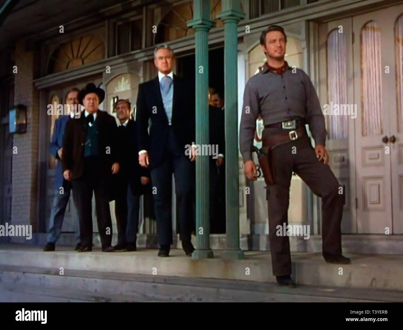 VENGEANCE A L'AUBE DAWN AT SOCORRO 1954 de George Sherman David Brian Alex Nicol. western; Prod DB © Universal International Pictures (UI) / DR - Stock Image
