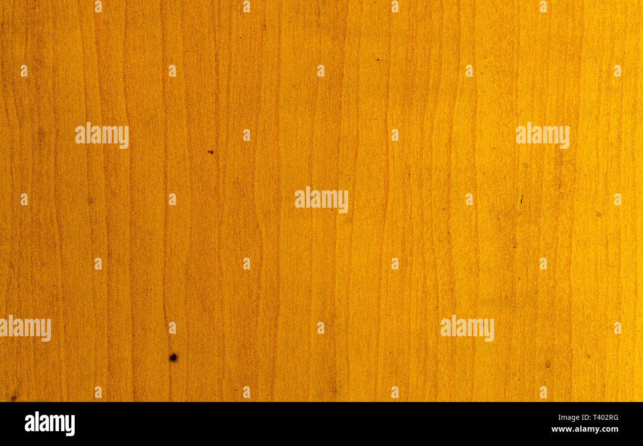 Bright colored old natural wooden board textured flooring background. Surface of teak wood for design and decoration. Studio shot with copy space room - Stock Image