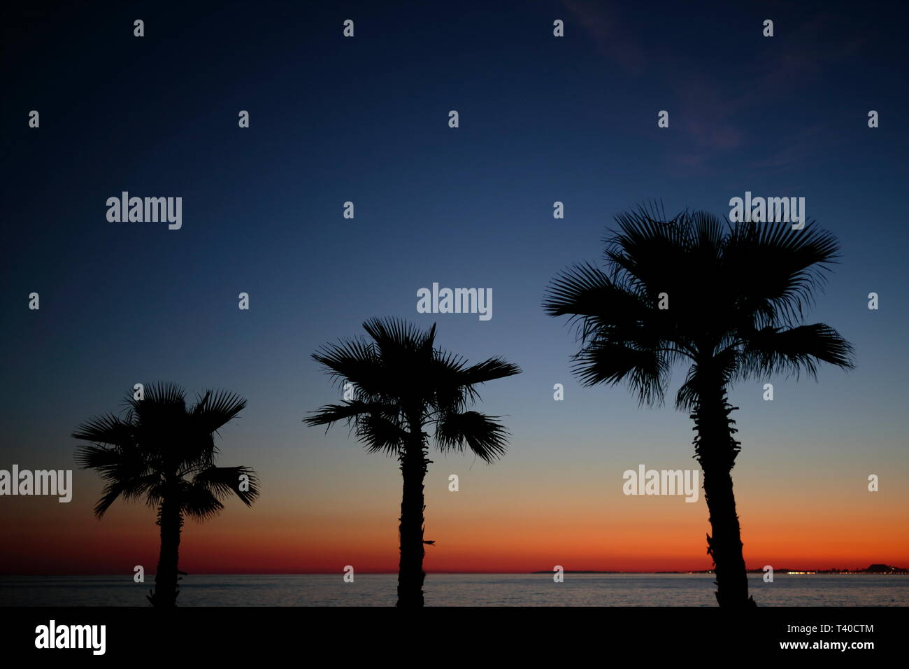 Playa Paraiso (Villajoiosa) Spain - Stock Image