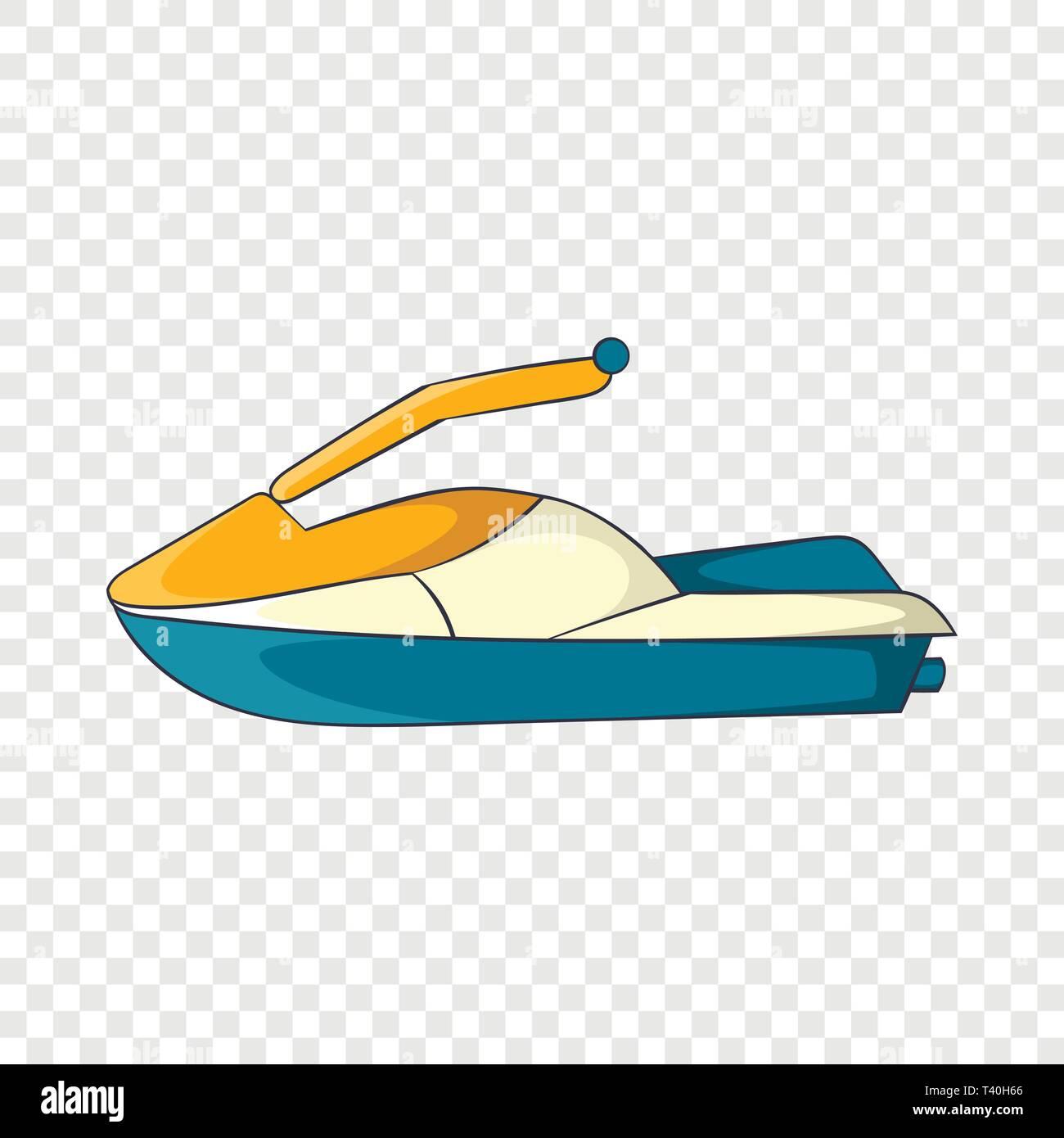 Jet Ski Icon Cartoon Style Stock Vector Image Art Alamy
