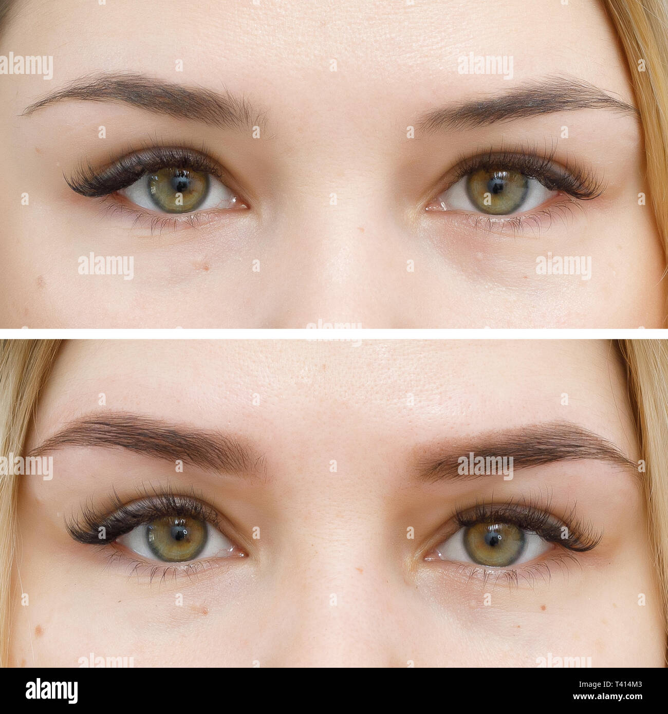 Photo Comparison Before And After Permanent Makeup