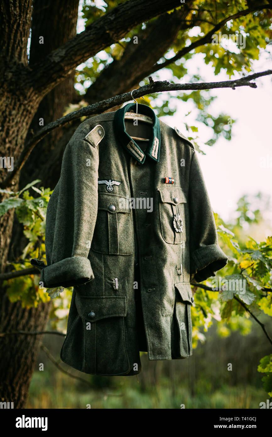 Single Coat Or Tunic Of World War II German Wehrmacht