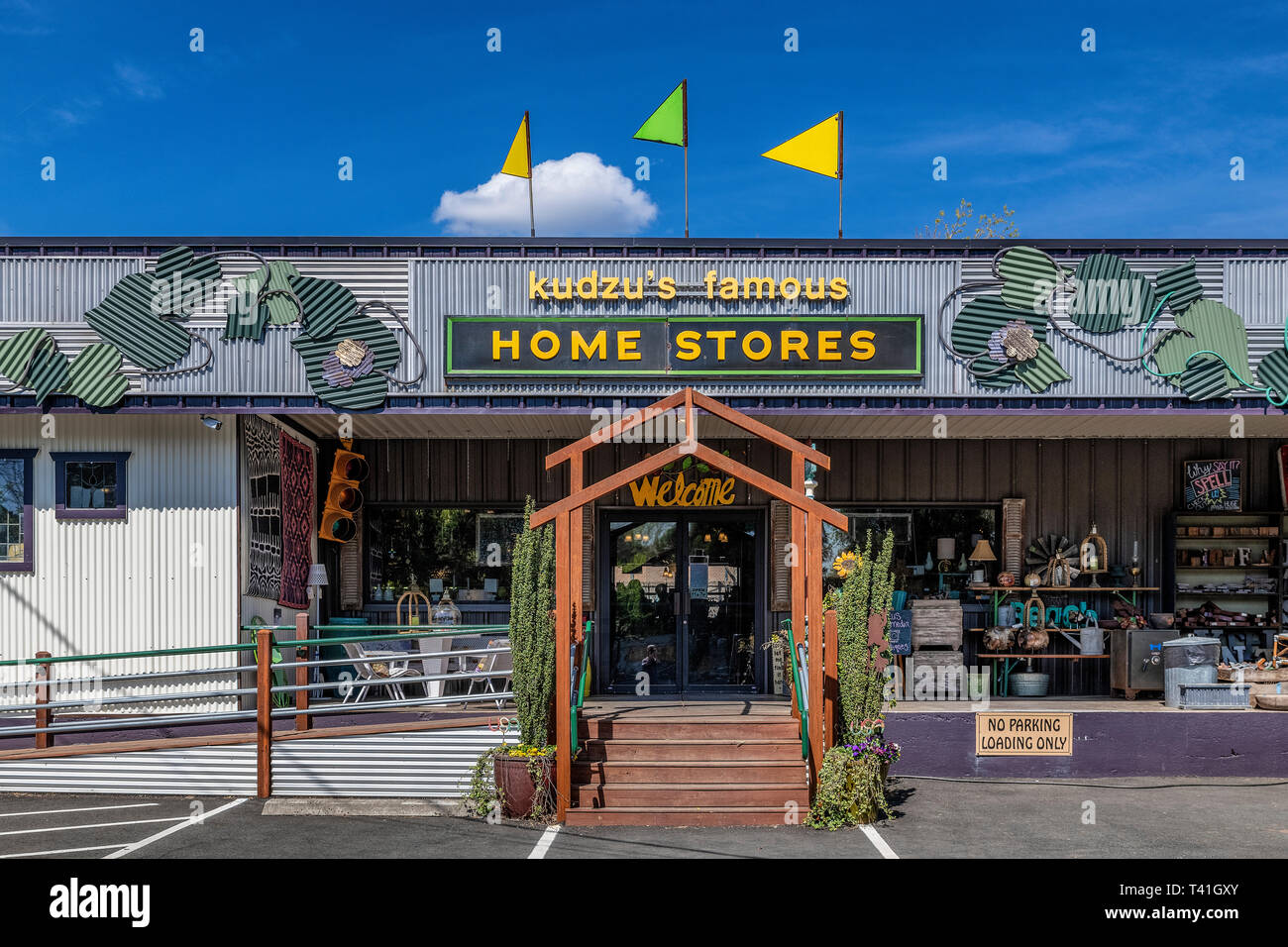 Kudzu's Famous Home Stores, Atlanta, Georgia, USA. - Stock Image