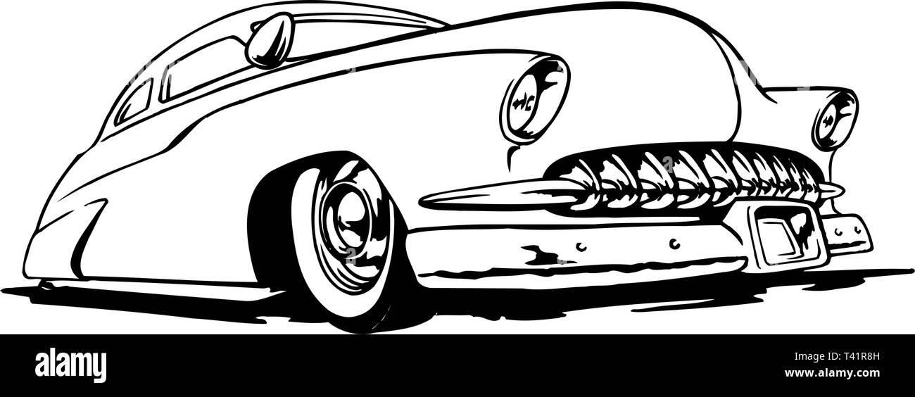 1950 Mercury Clip Art